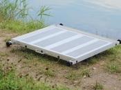 Ribolovna aluminijska platforma