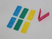 Staklarski podlošci za montažu prozorskih stakla